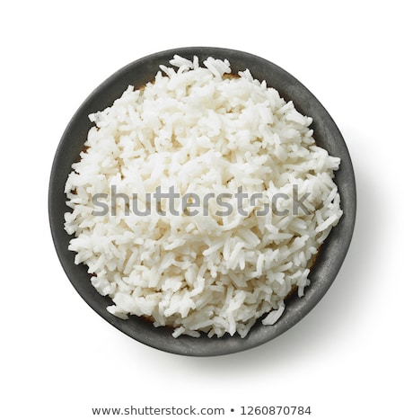 Bowl with boiled rice stock photo © Bellastera