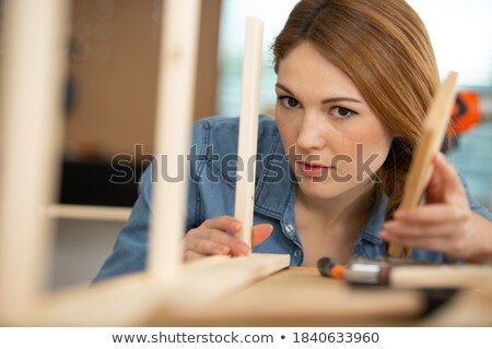 young female diy enthusiast Stock photo © photography33