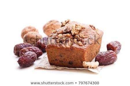 Tarihleri kek çikolata cips tahta Stok fotoğraf © vlad_podkhlebnik