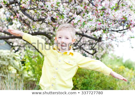 Little boy pretending to be a gardener Stock photo © photography33
