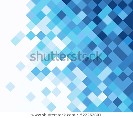 colorful square pixels abstract pattern background stock photo © latent