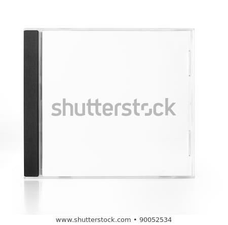 cd · tok · fehér · doboz · fekete · digitális - stock fotó © djdarkflower