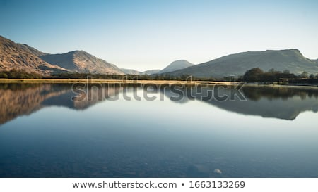 old ruined fortress on mountain landscape Stock photo © goce