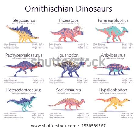Dinoszaurusz kicsi korai 3d render 3D Stock fotó © AlienCat