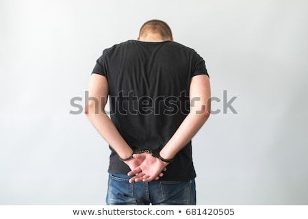 Close-up of handcuffed business people Stock photo © wavebreak_media