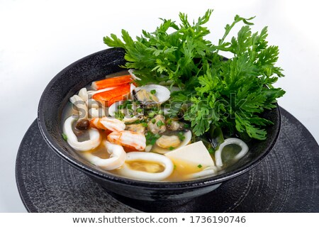seafood and noodles stock photo © witthaya