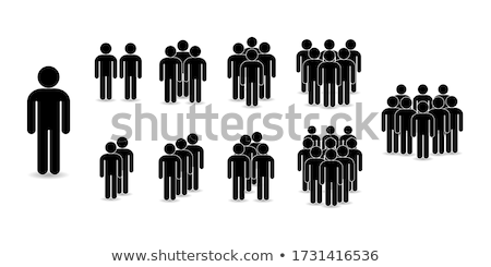 Stock photo: Avatar people icons