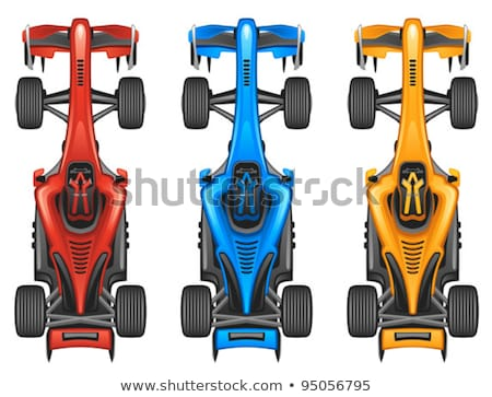 Toy car formula one isolated on white Stock photo © sqback