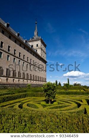El Escorial Gardens, Spain  Stock photo © Bertl123