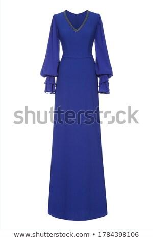 Beautiful woman in evening attire Stock photo © fantasticrabbit