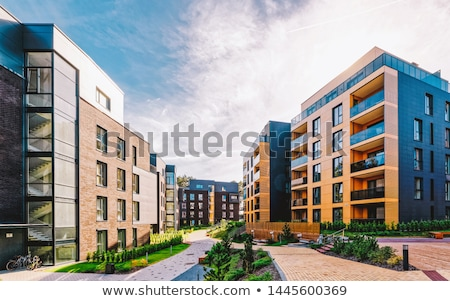 Residencial desarrollo construcción diseno planificación Foto stock © Lightsource
