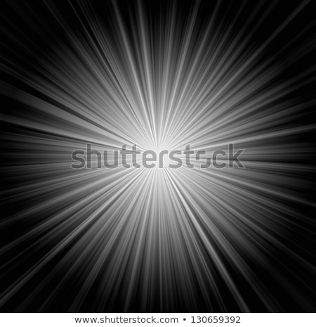 Zonnestralen alle Geel zwarte zon Stockfoto © michaklootwijk