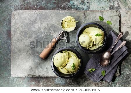 Sunny & Ice Cream stock photo © sonofpromise
