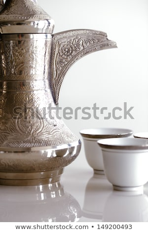 An abstract detail of a spout of a dallah Stock photo © SophieJames