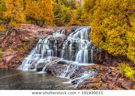Upper Falls of Gooseberry Falls Stock photo © wolterk