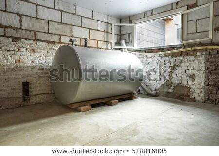 artesão · instalação · edifício · homem · parede - foto stock © dar1930