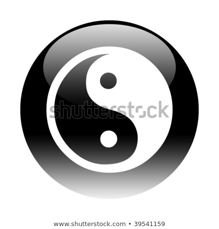 Gel Round Ying Yang Photo stock © Fenton