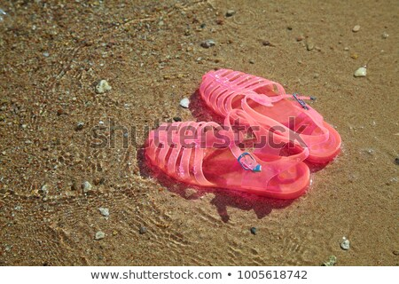 jelly sandals Stock photo © nito