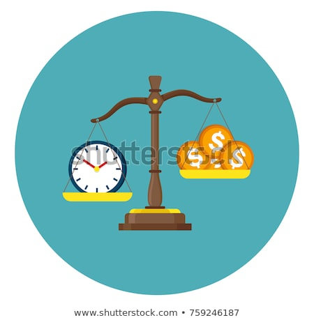 idő · kék · terv · stílus · fehér · gomb - stock fotó © tashatuvango