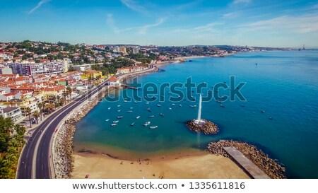 海岸 ポルトガル 海 ビーチ 水 ストックフォト © rognar