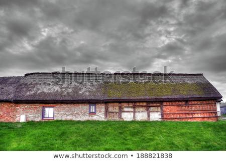 old fishermans hut in Zempin   Stock photo © meinzahn