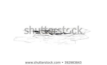 Repedt padló Föld sport utazás szín Stock fotó © designers