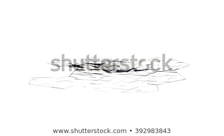rachado · piso · terra · esportes · viajar · cor - foto stock © designers
