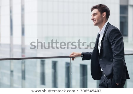 Stockfoto: Cool · zakenman · naar · kant · foto