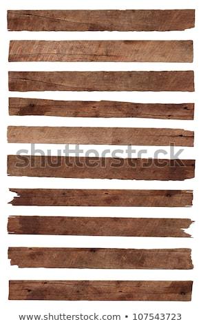 Stockfoto: Weathered Old Wood Planks
