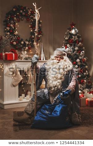 Russian Grandfather Frost. Santa Claus Stock photo © orensila