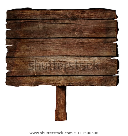 Empty notice board cutout stock photo © DragonEye