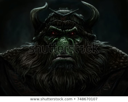 Warrior ogre.  Stock photo © ddraw