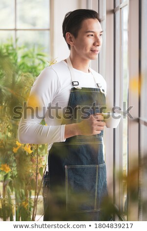 Happy casual agriculturist Stock photo © erierika