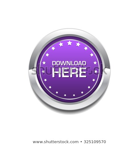 download here purple circular vector button stock photo © rizwanali3d