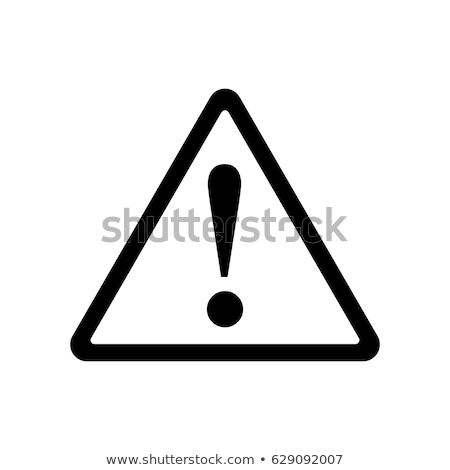 warning symbols stock photo © blumer1979