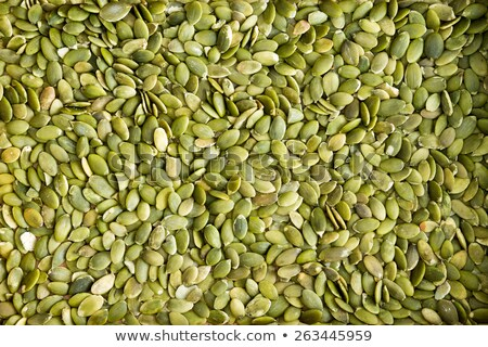Background texture of green hulled pumpkin seeds Stock photo © ozgur