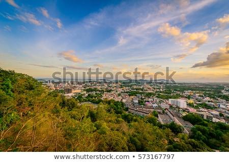 Ver mar céu turista cidade phuket Foto stock © Yongkiet