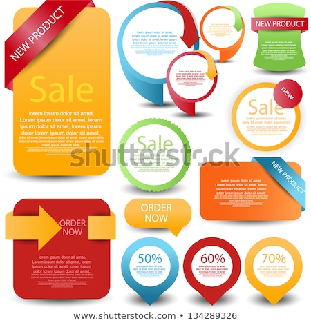 Stock photo: Christmas Discount Green Vector Icon Design