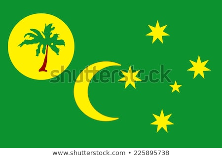 flag of territory of the cocos keeling islands stock photo © istanbul2009