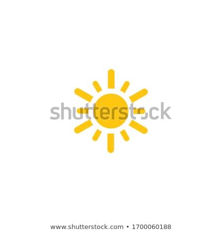 summer logo water sun icon stock photo © blaskorizov