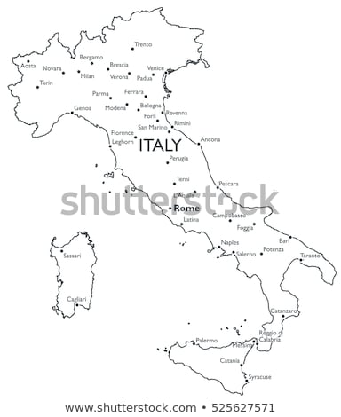 Map of Italy, LAquila Stock photo © Istanbul2009
