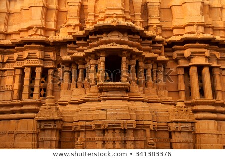詳細 ドア 砦 インド デザイン 歴史 ストックフォト © imagedb