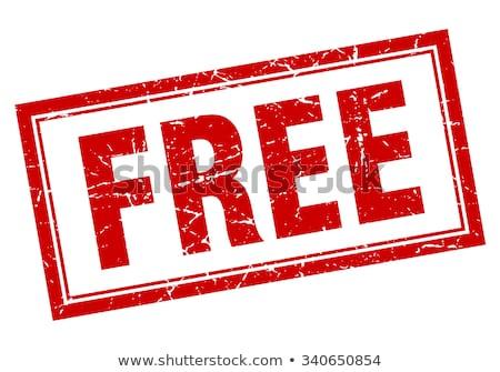Free stamp Stock photo © fuzzbones0