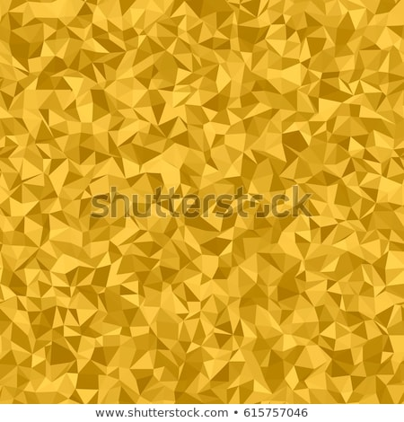 Goldenrod Yellow Abstract Low Polygon Background Stock photo © patrimonio