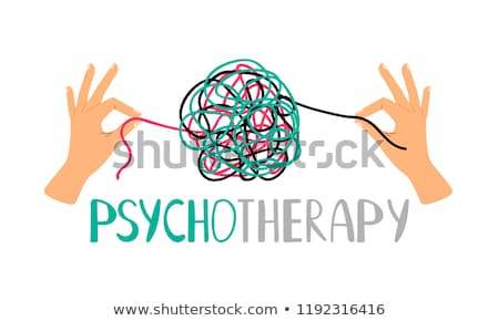 Stressed tangle Stock photo © alphaspirit