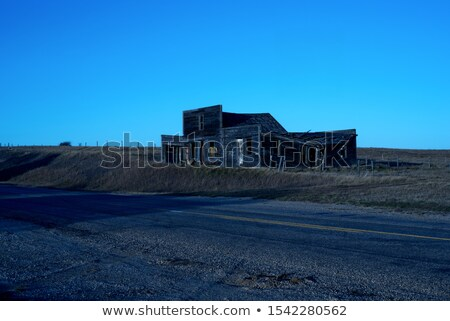Ghost Town Galilee Saskatchewan Stock photo © pictureguy