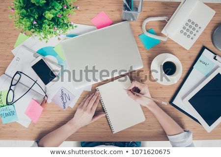 Person's Hand Writing Things To Do List Stock photo © AndreyPopov