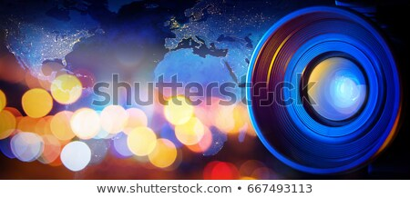 video-camera on map of europe Stock photo © Paha_L