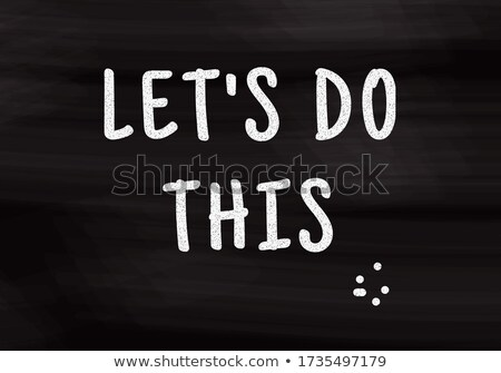 New Competence Handwritten on Chalkboard. Stock photo © tashatuvango