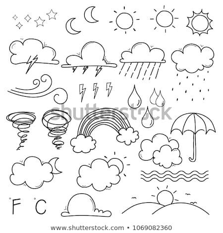 doodle vector weather stock photo © netkov1